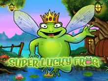 Играть в слот Супер Удачливая Лягушка
